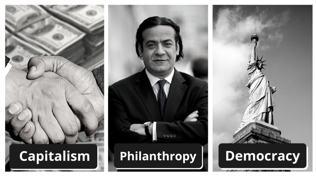Capitalism, Philanthropy, Democracy